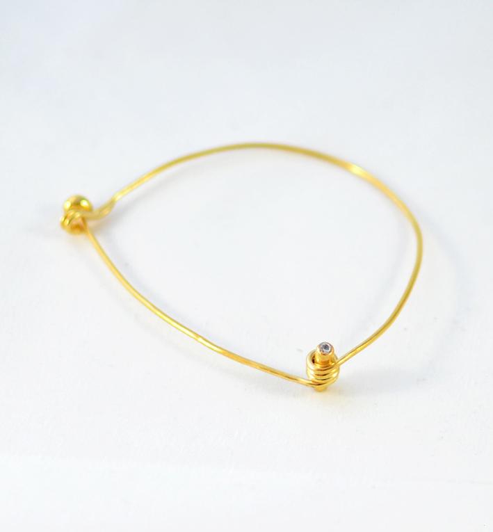 Χειροποίητο βραχιόλι relic χρυσό