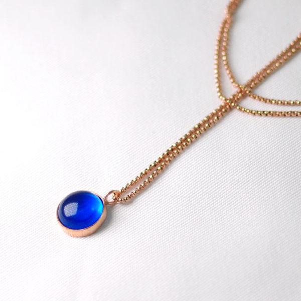 Χειροποίητο κολιέ royal in blue