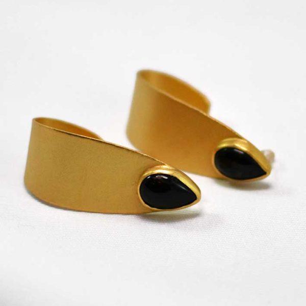 Χειροποίητα σκουλαρίκια dainty χρυσά
