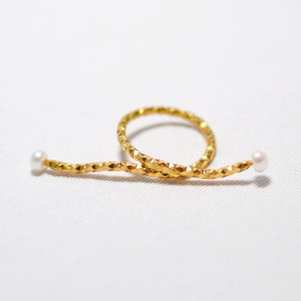 Χειροποίητο ασημένιο δαχτυλίδι selene