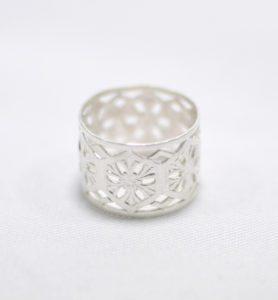 Χειροποίητο δαχτυλίδι nomad ασημένιο