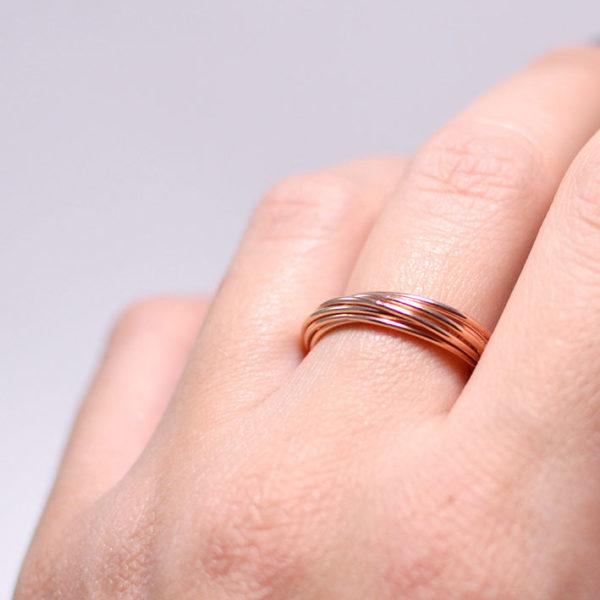 Χειροποίητο minimal δαχτυλίδι Yvette
