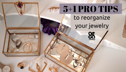 5+1 pro tips to reorganize your jewelry